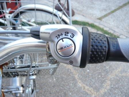 自転車の 自転車 グリップシフト ワイヤー交換 : ... 内装3段変速機のワイヤー交換