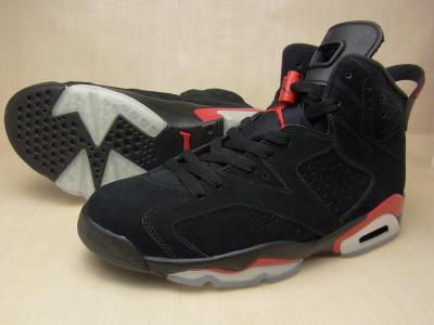 NIKE AIR JORDAN 6 RETRO BLACK/VARSITY RED