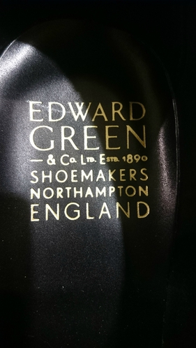 EDWARD GREEN CHELSEA ヴィンテージスチール