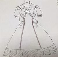 ロリータセーラー服を作ろう 続き