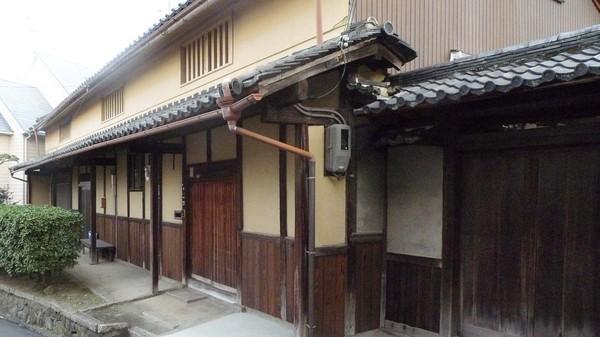 富田の歴史・文化が残る町並み