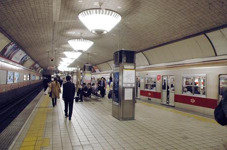 電車で行こう!大阪:心斎橋駅